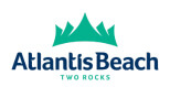 atlantis beach two rocks logo